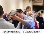 new york city   february 13...   Shutterstock . vector #1032005254
