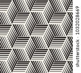 seamless pattern with lines... | Shutterstock .eps vector #1032028669