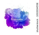 abstract brush stroke for... | Shutterstock .eps vector #1032034558