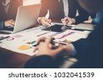detailed consultation between...   Shutterstock . vector #1032041539