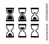 clock icon vector   Shutterstock .eps vector #1032060469