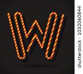letter w logo icon design... | Shutterstock .eps vector #1032060844