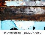 metal background of natural...   Shutterstock . vector #1032077050