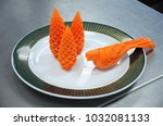 Bird Carrot Carving  Thai...