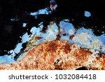 metal background of natural...   Shutterstock . vector #1032084418