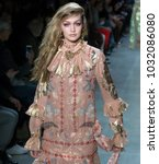 new york  ny   february 12 ...   Shutterstock . vector #1032086080