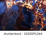 metal background of natural...   Shutterstock . vector #1032091264