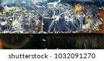 metal background of natural...   Shutterstock . vector #1032091270