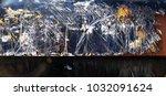 metal background of natural...   Shutterstock . vector #1032091624