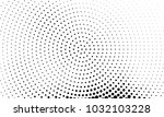 abstract monochrome halftone... | Shutterstock .eps vector #1032103228
