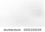 abstract monochrome halftone... | Shutterstock .eps vector #1032103234