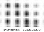 abstract monochrome halftone... | Shutterstock .eps vector #1032103270