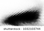 abstract monochrome halftone... | Shutterstock .eps vector #1032103744