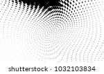 abstract monochrome halftone... | Shutterstock .eps vector #1032103834