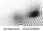 abstract monochrome halftone... | Shutterstock .eps vector #1032103840