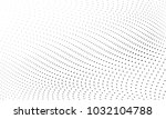 abstract monochrome halftone... | Shutterstock .eps vector #1032104788