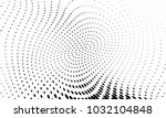 abstract monochrome halftone... | Shutterstock .eps vector #1032104848