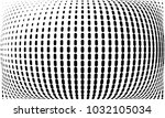 abstract monochrome halftone... | Shutterstock .eps vector #1032105034