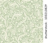 Seamless Damask Background In...