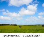 nice view of great ocean road ... | Shutterstock . vector #1032152554