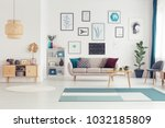gold leaf on wooden cupboard in ... | Shutterstock . vector #1032185809