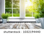 summer pier of free space and... | Shutterstock . vector #1032194440