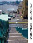 historic harbor in hamburg with ... | Shutterstock . vector #1032200260