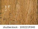 brown beige wet texture   Shutterstock . vector #1032219340