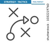 strategy   tactics icon.... | Shutterstock .eps vector #1032219760