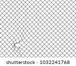 decorative wire mesh   Shutterstock . vector #1032241768