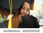 portrait of successful graduate ... | Shutterstock . vector #1032250120