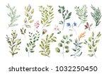 watercolor illustration. ... | Shutterstock . vector #1032250450