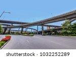 nanjing shuangqiaomen overpass... | Shutterstock . vector #1032252289