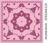 fashion design color paisley... | Shutterstock .eps vector #1032266113