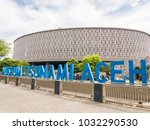 banda aceh  indonesia   january ... | Shutterstock . vector #1032290530
