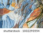 Colorful Rock Layers