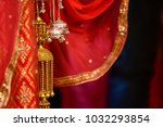 wedding knot at hindu wedding | Shutterstock . vector #1032293854