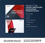 material design of brochure set ... | Shutterstock .eps vector #1032305899