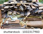 Wood  Timber  Wiring Debris In...