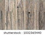 dark brown wood texture with... | Shutterstock . vector #1032365440