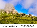 view at stara planina mountain... | Shutterstock . vector #1032368368