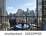 view of downtown from a condo... | Shutterstock . vector #103239920