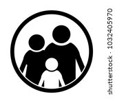 family vector icon for web and... | Shutterstock .eps vector #1032405970