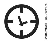time vector icon for web and... | Shutterstock .eps vector #1032405976