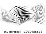 abstract black and white... | Shutterstock .eps vector #1032406633