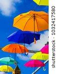 Colourful Umbrellas Urban...