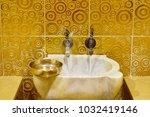 traditional turkish hammam | Shutterstock . vector #1032419146