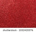 shiny red glitter pattern... | Shutterstock . vector #1032420376