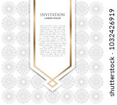 abstract beautiful mandala... | Shutterstock .eps vector #1032426919