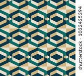 geometric pattern vector   Shutterstock .eps vector #1032435394